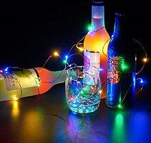 Kingko® LED Lichterkette Kupferdraht 2.1M
