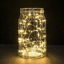 Kingko Lichterkette 20LED Leuchte 2 Meter