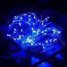 Kingko Solar Lichterkette 20LED Leuchte 2 Meter