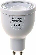 Kingled - Mi-Light LED-Strahler WiFi GU10 5W 450lm