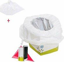 kingpo Baby-Toiletten-Trainingsreisetopf 2 in 1
