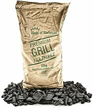 Kings of Barbecue Premium Quebracho Holzkohle Grillkohle 10Kg