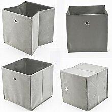 KingSaid 4 Stück Faltbox Faltbare
