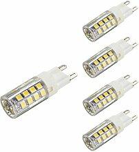 KINGSO 4x G9 LED Lampe 5W 400LM Glühlampe Ersatz