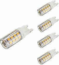 KINGSO 4x G9 LED Lampe 5W Glühlampe Ersatz für