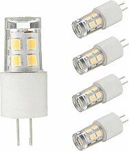 KINGSO 4xG4 LED Lampe 1.5W Glühbirne Ersatz für