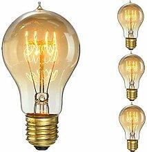 KINGSO 60W E27 Edison Vintage Lampe Antike