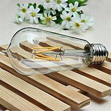 KINGSO E27 4W LED COB ST58 220V Edison Lampe