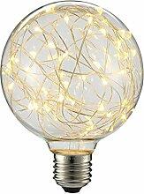 KingSo E27 Lampe Warmweiß3W Kugellampe