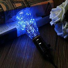KINGSO E27 LED Lampe LED Lichterkette Edison Lampe