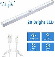 KINGSO LED Schrankbeleuchtung USB Wiederaufladbare