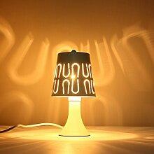 KINGSO Moderne DIY Tischleuchte Nachttischlampe