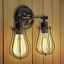 KINGSO Wandlampe Vintage E27 Wandleuchte
