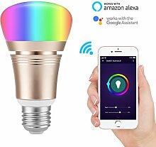 KINGSO WLAN Smart LED Licht Glühbirne E27 7W