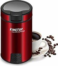 KINGTOP Schlagmesser Kaffeemühle Elektrische