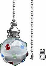 KingYH 1 Stück Bad Licht Pull mit Kette 100 cm