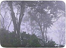 Kinhevao Bad Matte grüne Fotografie Bäume im