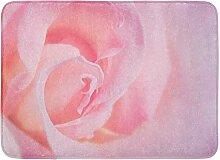 Kinhevao Badematte Rose Pretty in Pink Blossom