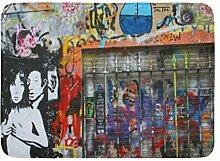 Kinhevao Badteppich GRAF Paris Berlin Street Art