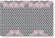 Kinhevao Fußmatte Eingang, geometrisches Muster