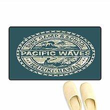 Kinhevao Fußmatte Pacific Waves Surf Camp und