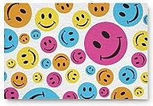 Kinhevao Nette Emoji Muster Home Bad Bad Dusche