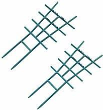 Kining Pflanzengitter Bambus - Rankhilfen Für