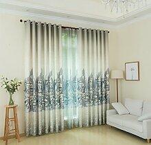 Vorhang Blickdicht Lichtdurchlässig kinlo gardinen vorhänge günstig kaufen lionshome