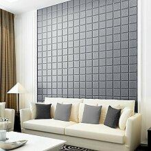 KINLO 15pcs Wandpaneele Selbstklebend 60 x 60 cm