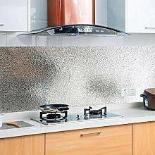 KINLO 2 Rolle 0.61 x 5 m Aluminium Folie Aufkleber