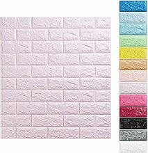 KINLO 25 Stücke Tapete Pattern 70x77x1cm lila