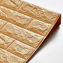 KINLO 5 Stücke Tapete Pattern 70x77x1cm helle