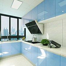 KINLO blau glanz Möbelfolie 5x0.6M 3pcs (9㎡)