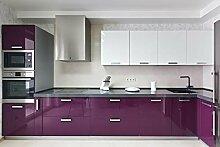 KINLO lila glanz Möbelfolie 5x0.6M 5pcs (15㎡)