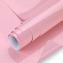 KINLO rosa glanz Möbelfolie 5x0.6M 5pcs (15㎡)