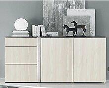 KINLO Selbstklebend Klebefolie Möbelfolie Holz Aufkleber wasserdicht Küchenfolie Schrankfolie Dekoration für Küchenschränke Möbel Farbe B(0.61 x 5 M)