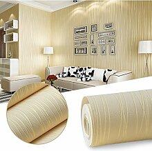 KINLO® Tapete Wand Wohnzimmer 3D 5mx0.53m Top Vleistapete Streifen tapete vlies Beige schalfzimmer wandaufkleber fototapete modern tapete selbstklebend 2 Jahren Garantie