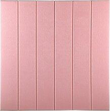 KINLO Tapete Wohnzimmer 3D PVC Schaum Wandpaneele