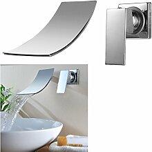 Kinse® Armatur Badwanne Wasserhahn Waschtischarmatur Einhandmischer Wassertisch Mischbatterie für Bad