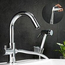 KINSE® Wasserhahn Armatur Waschtischarmatur