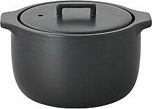 Kinto - KAKOMI Reiskocher Keramik (schwarz)