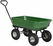 Kinzo Gartenkarre - Gartenwagen mit Kippfunktion -