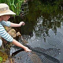 Kinzo Teichschutz-Gitter Set Gartenteich-Schutz