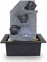Kiom Zimmerbrunnen Tischbrunnen FoMuraglia mit LED
