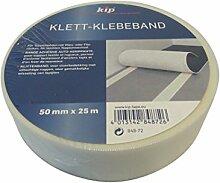 Kip Klett-Klebeband 50mm x 25m Teppich verlegen Teppichband Klettband