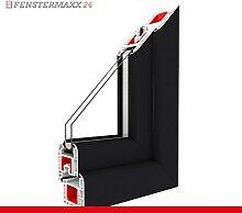 Kippfenster Anthrazit Glatt / PVC BxH:800x800, Glas:2-Fach