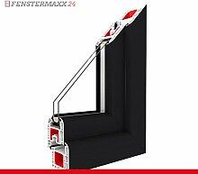 Kippfenster Anthrazitgrau / PVC - Glas:2-Fach, BxH:1300x600