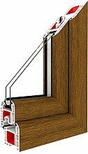 Kippfenster Eiche Hell/PVC BxH:500x600, Glas:2-Fach