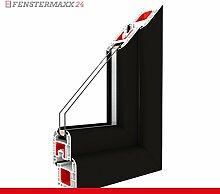 Kippfenster Light Black / PVC BxH:1000x700, Glas:3-Fach