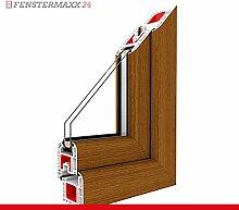 Kippfenster Streifen Douglasie / PVC , Glas:2-Fach, BxH:1500x800